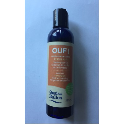 OUF! Huile pour le corps PLEIN AIR - 125ml (to be translated)